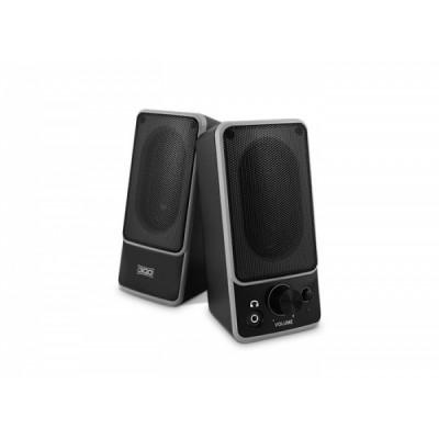 3GO W400 Altavoces 2.0 Negro